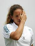 Tennis All England Championships Wimbledon Patty Schnyder (SUI) enttaeuscht in ihrem Spiel gegen A. Serra Zanetti (ITA).