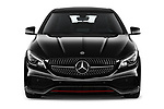 Car photography straight front view of a 2018 Mercedes Benz CLA Shooting Brake Sport 5 Door Wagon