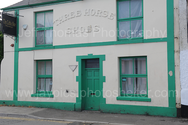 The Three Horse Shoes. Another very old pub in Merthyr <br /> <br /> <br /> <br /> Jeff Thomas Photography -  www.jaypics.photoshelter.com - <br /> e-mail swansea1001@hotmail.co.uk -<br /> Mob: 07837 386244 -
