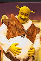 S&Atilde;O PAULO,SP, 09-09-2013, TEATRO BRADESCO - COLETIVA DE IMPRENSA SHREK<br /> <br /> O ator Diego Luri (Shrek) do elenco Shrek na coletiva de imprensa realizada no Teatro Bradesco em S&atilde;o Paulo, nesta segunda-feira dia 09 de setembro de 2013 (Foto: Flavio Hopp / Brazil Photo Press).