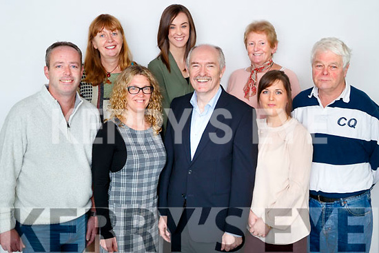 Kerry's Eye Journalists, From Left: Aidan O'Connor, Breda Joy, Sinead Kelleher, Amber Galwey, Ger Colleran, Editor, Anne Pullen, Michelle Crean and Gordon Revington.