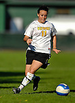 31 August 2007: University of Vermont Catamounts' Rachel Andres, a Sophomore from Honeoye, NY, in action against the University of Central Arkansas Sugar Bears at Historic Centennial Field in Burlington, Vermont. The Catamounts defeated the Sugar Bears 1-0 during the TD Banknorth Soccer Classic...Mandatory Photo Credit: Ed Wolfstein Photo