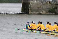 Mortlake/Chiswick, GREATER LONDON. United Kingdom Cambridge University Boat  Club, 2nd Eight, &quot;Goldie&quot; Pre Boat Race Fixture  Thames RC. 2017 Boat Race The Championship Course, Putney to Mortlake on the River Thames.<br /> <br /> {DOW}  {DATE}<br /> <br /> [Mandatory Credit; Peter SPURRIER/Intersport Images]