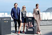 Natalia Molina, Ruth Diaz and Carlos Barden attent the Photocall of 'Adios' during the 67th San Sebastian Donostia International Film Festival - Zinemaldia.September 26,2019.(ALTERPHOTOS/Yurena Paniagua)<br /> Photo Alterphotos / Insidefoto <br /> ITALY ONLY
