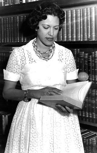 Maricusa Ornes, 1962.