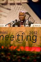 meeting di Comunione e Liberazione, CL, Rimini 2012, Monsignore  Ignatius Kaigama, presidente conferenza episcopale Nigeria,cristianesimo e Africa