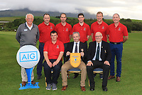 Team Westport winners of the Junior Cup in the AIG Cups & Shields Connacht Finals 2019 in Westport Golf Club, Westport, Co. Mayo on Thursday 8th August 2019.<br />