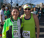 Ramona and Pady after the 7th annual Leprechaun Race in downtown Reno, Nevada on Sunday, March 17, 2019.