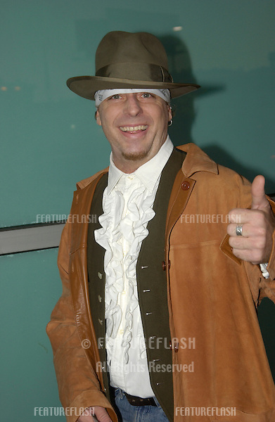 Actor LEIF GARRETT at the world premiere of Dickie Roberts: Former Child Star..Sept 3, 2003