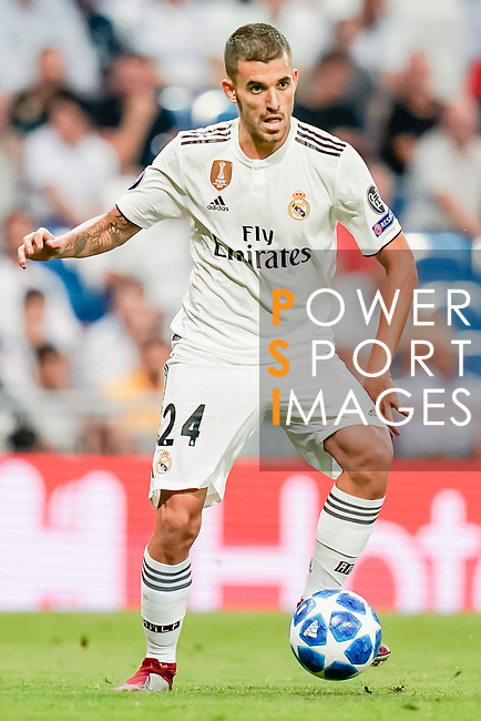 Daniel Ceballos Fernandez, Dani Ceballos, of Real Madri in action during the UEFA Champions League 2018-19 match between Real Madrid and Roma at Estadio Santiago Bernabeu on September 19 2018 in Madrid, Spain. Photo by Diego Souto / Power Sport Images