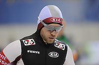 SCHAATSEN: SALT LAKE CITY: Utah Olympic Oval, 15-11-2013, Essent ISU World Cup, 500m, Haralds Silovs (LAT), ©foto Martin de Jong