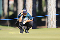 Andy Sullivan (ENG) on the 9th green during Saturday's Round 3 of the 2018 Turkish Airlines Open hosted by Regnum Carya Golf &amp; Spa Resort, Antalya, Turkey. 3rd November 2018.<br /> Picture: Eoin Clarke | Golffile<br /> <br /> <br /> All photos usage must carry mandatory copyright credit (&copy; Golffile | Eoin Clarke)