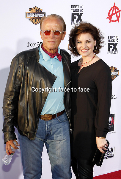 "Peter Weller at the FX's Season 6 Premiere Screening of ""Sons Of Anarchy"" held at the Dolby Theatre in Hollywood on September 7, 2013 in Los Angeles, California. Credit: PopularImages/face to face"