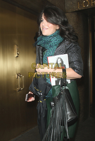 NEW YORK, NY - DECEMBER 18: Monica Lewinsky at the Gloria Steinem party for her new book, My Life on the Road at the Rainbow Room on December 18, 2015 in New York City.  <br /> CAP/MPI/RW<br /> &copy;RWMPI/Capital Pictures