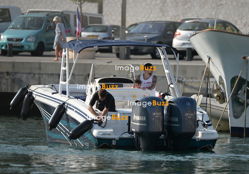 EXCLUSIVE - July 27, 2013 - Jo&euml;l Madden and son Sparrow James Midnight Madden are following their super yacht &quot; Alibi &quot; in the harbor of Nice, while vacationing with mom Nicole Richie and daughter Harlow Winter Kate Madden in the South of France. <br /> Luxury motor yacht Alibi&iacute; is a custom 51m / 167' 3&quot; four deck yacht which was built by CBI Navi in 2005,  providing excellent interior spaces and accommodation for 12 guests.<br /> Rented at the price of 200.000 euros/week, the couple has been traveling in the mediterranean coast between Corsica, Saint Tropez and Nice.