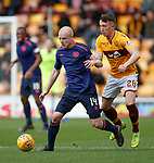 17.02.2019: Motherwell v Hearts: Steven Naismith and David Turnbull
