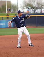 Hudson Potts - San Diego Padres 2018 spring training (Bill Mitchell)