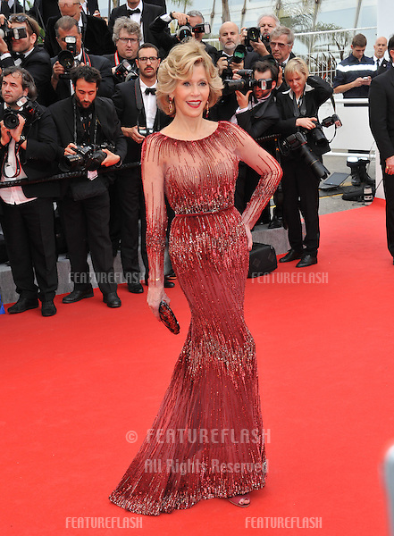 Jane Fonda at the gala premiere of &quot;Grace of Monaco&quot; at the 67th Festival de Cannes.<br /> May 14, 2014  Cannes, France<br /> Picture: Paul Smith / Featureflash