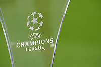 Symbol, Illustration, Feature, Logo<br /> FC BAYERN MUENCHEN - FC SEVILLA 0-0<br /> Viertelfinale 2nd leg, Football UEFA Champions League, Muenchen, Germany 11.04.2018<br /> CL  2017/2018, FCB, <br /> <br />  *** Local Caption *** © pixathlon<br /> Contact: +49-40-22 63 02 60 , info@pixathlon.de