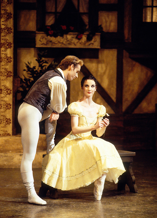 Greg Horsman and Lisa Pavane in English National Ballet's production of Giselle choreographed by Derek Deane