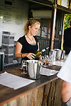 Wine tasting at Lancaster Wines in the Swan Valley - near Perth, Western Australia, AUSTRALIA.
