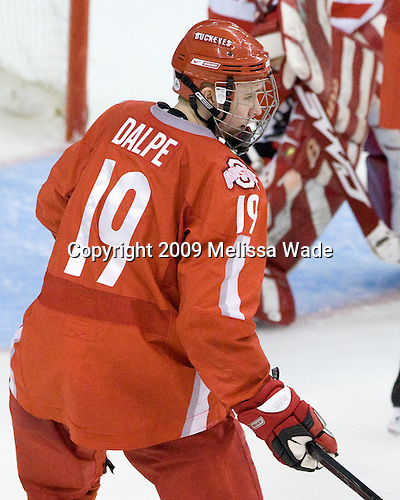 Zac Dalpe (Ohio State - 19) - The Boston University Terriers defeated the Ohio State University Buckeyes 8-3 in the 2009 Northeast Regional Semifinal on Saturday, March 28, 2009, at the Verizon Wireless Center in Manchester, New Hampshire.
