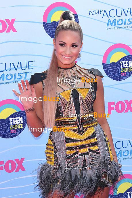 Demi Lovato  at the 2012 Teen Choice Awards..Los Angeles, July  22, 2012.