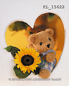 Interlitho, Alberto, CUTE ANIMALS, teddies, photos, teddy, sunflower(KL15622,#AC#)