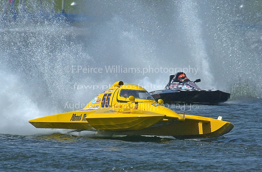 S-55 and S-711     (2.5 Litre Stock hydroplane(s)