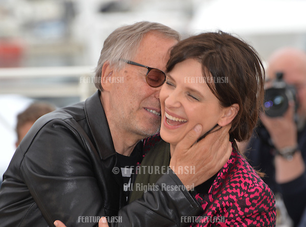 Actors Juliette Binoche &amp; Fabrice Luchini at the photocall for &quot;Slack Bay&quot; (&quot;Ma Loute&quot;) at the 69th Festival de Cannes.<br /> May 13, 2016  Cannes, France<br /> Picture: Paul Smith / Featureflash