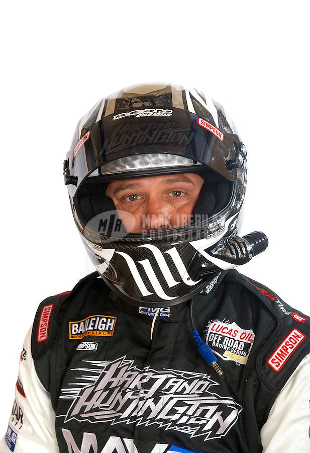Mar. 18, 2011; Chandler, AZ, USA;  LOORRS driver Josh Merrel poses for a portrait at Firebird International Raceway. Mandatory Credit: Mark J. Rebilas