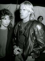 Jacqueline Bissett and Alexander Gudunov 1981<br /> Photo By John Barrett/PHOTOlink