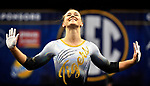 The SEC National Gymnastic Championship was held on Saturday March 24 at Chaifetz Arena on the Saint Louis University campus. Mizzou&rsquo;s Morgan Porter shown during the floor competition.<br />