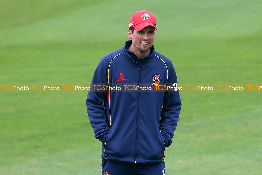 Alastair Cook of Essex looks on ahead of Essex CCC vs Hampshire CCC, Specsavers County Championship Division 1 Cricket at The Cloudfm County Ground on 19th May 2017