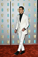 Rami Malek<br /> The EE British Academy Film Awards 2019 held at The Royal Albert Hall, London, England, UK on February 10, 2019.<br /> CAP/PL<br /> ©Phil Loftus/Capital Pictures