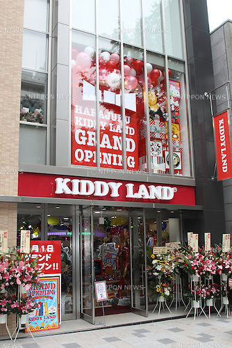 June 28, 2012, Tokyo, Japan - Kiddy Land Harajuku Grand Opening Press Preview. The public opening will be on July 1, 2012 - Harajuku Tokyo