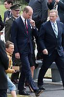 Le Prince William, la Princesse Astrid de Belgique et le Premier Ministre irlandais  Enda Kenny lors des comm&eacute;morations de la Bataille de Messines.<br /> Belgique, Messines, 7 juin 2017.<br /> The Duke of Cambridge Prince William, Princess Astrid of Belgium and the Taoiseach Enda Kenny attend the Battle of Messines Ridge Commemorations.<br /> Belgium, Messines, 7 June 2017.