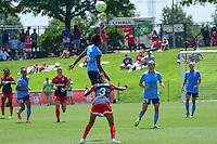 Boyds, MD - Sunday July 31, 2016: Maya Hayes, Caprice Dydasco during a regular season National Women's Soccer League (NWSL) match between the Washington Spirit and Sky Blue FC at Maureen Hendricks Field, Maryland SoccerPlex.