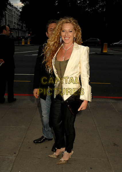 KELLY HOPPEN .The In Style 5th Birthday party at Victoria and Albert Museum, London, UK. .June 19, 2006.Ref: SW.full length cream jacket black trousers.www.capitalpictures.com.sales@capitalpictures.com.©Capital Pictures.