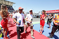 24.06.2012. Valencia, Spain. FIA Formula One World Championship 2012 Grand Prix of Europe Race.  The picture show  Lewis Hamilton (England driver of McLaren)