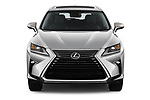 Car photography straight front view of a 2018 Lexus RX 350L-4x2 5 Door SUV Front View