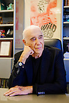 Al Ruddy poses for a portrait in his office in Los Angeles, California October 29, 2015. He has the rights to produce the new screen version of Atlas Shrugged.