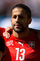 Ricardo Rodriguez of Switzerland