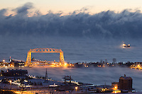 """Lake Superior Sea Smoke""<br />
