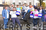 Volunteers who helped in the tractor push in aid of St Mary's of the Angels in Castleisland on Saturday morning front row l-r: Kathleen Breen, James O'Connor, Kelly Griffin, Moira Griffin. Back row: Sean O'Connor, Frank O'Connor, John Moloney, Jordan Barry, Sandra O'Connor and Hellena O'Connor....