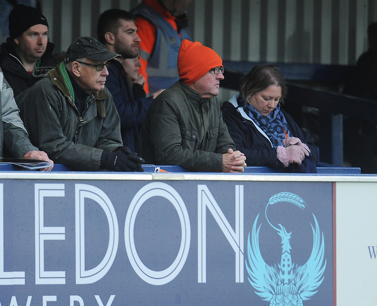 Blackpool fans enjoy the pre-match atmosphere <br /> <br /> Photographer Kevin Barnes/CameraSport<br /> <br /> The EFL Sky Bet League One - AFC Wimbledon v Blackpool - Saturday 29th December 2018 - Kingsmeadow Stadium - London<br /> <br /> World Copyright © 2018 CameraSport. All rights reserved. 43 Linden Ave. Countesthorpe. Leicester. England. LE8 5PG - Tel: +44 (0) 116 277 4147 - admin@camerasport.com - www.camerasport.com