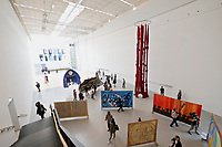 Kassel, Germany. Opening days of documenta14.<br /> documenta-Halle.