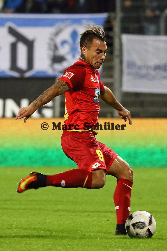 Eduardo Vargas (TSG 1899 Hoffenheim) - SV Darmstadt 98 vs. TSG 1899 Hoffenheim, Johnny Heimes Stadion am Boellenfalltor