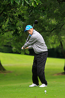 Caolan Kennedy (Forrest Little) on the 3rd tee during round 1 of The Mullingar Scratch Cup in Mullingar Golf Club on Sunday 3rd August 2014.<br /> Picture:  Thos Caffrey / www.golffile.ie