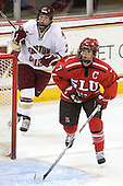 Dru Burns (BC - 7), Tara Akstull (St. Lawrence - 7) - The visiting St. Lawrence University Saints defeated the Boston College Eagles 4-0 on Friday, January 15, 2010, at Conte Forum in Chestnut Hill, Massachusetts.